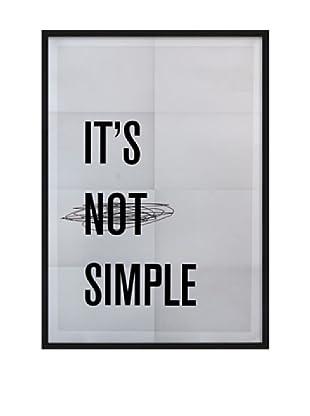 Póster Enmarcado Simple