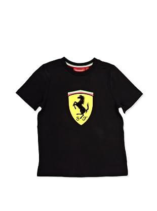 Ferrari Camiseta Shield (Negro)
