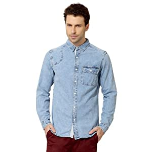 Solid Slim Fit Shirt