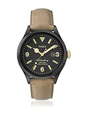 TIMEX Quarzuhr Man The Waterbury hellbraun 40 mm