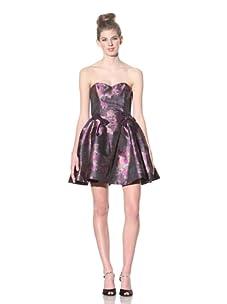 Betsey Johnson Women's Floral Poof Dress (Multi)