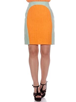 Santa Barbara Golden Edition Falda Bicolor (Naranja)