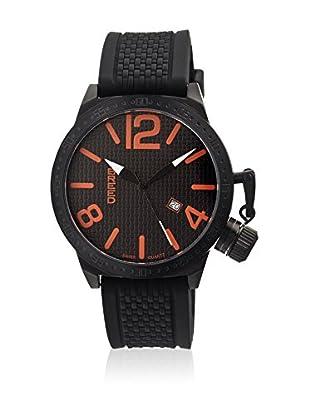 Breed Reloj con movimiento cuarzo suizo Brd5704 Negro 45  mm