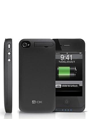 Blautel iPhone 4/4S Protector de pantalla Cover Bank 1400 Negro
