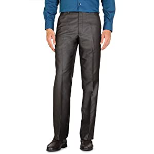 Casual Flat Front Trousers