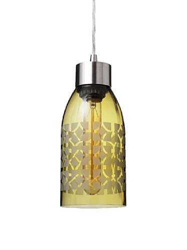Inhabit Reclaimed Bottle Pendant Light (Nixion)