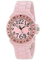 Lancaster Women's OLA0286RONR-RO Pink Dial Pink Ceramic Watch
