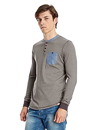 Lee Cooper Camiseta Manga Larga Purley