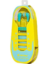 Sibyl Shoe Style Headphone Blue/Yellow