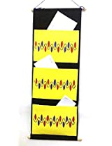 Exclusive Hand-Painted Wall Hanging Document Organizer