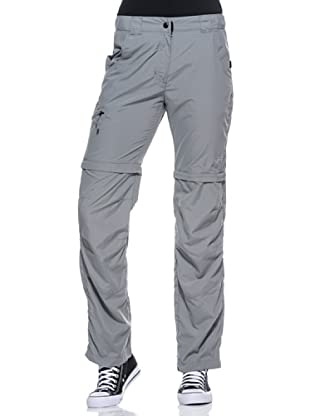 Black Wolf Pantaloncino Zip Off (Grigio)