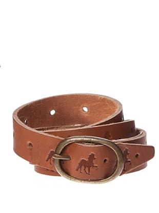Springfield Cinturón Piel Horses (marrón)
