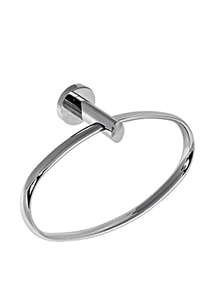 Gedy by Nameek's Demetra Collection Wall-Mountable Towel Ring, Polished Chrome