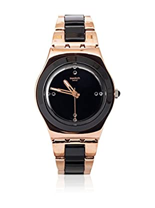 Swatch Quarzuhr Woman ROSE PEARL BLACK YLG123G 33.0 mm
