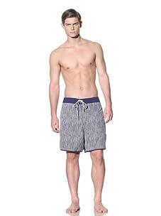 Ted Baker Men's Streama Swim Boardshorts (Dark Blue)