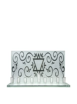 Prima Designs Frosted Star Menorah