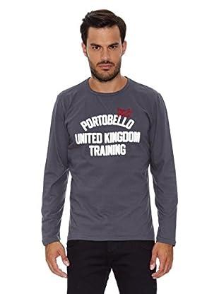 Pepe Jeans London Camiseta Manga Larga Tim (Gris)