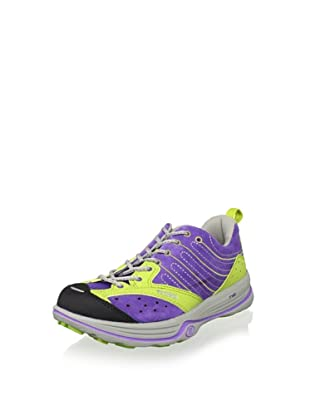 Tecnica Women's Dragon X Lite WS Trail Running Shoe (Violet/Lime)