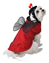 Anit Accessories Ladybug Dog Costume, 8-Inch