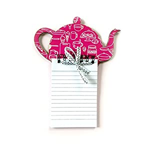 The Little Things Kettle (Purple) - Magnetic Memo Pad