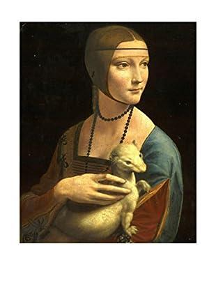 LegendArte  Wandbild Dame mit dem Hermelin von Leonardo da Vinci