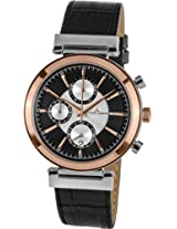 Jacques Lemans Chronograph Black Dial Men's Watch - 1-1699B