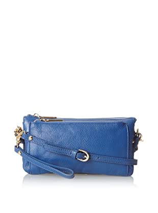 Zenith Women's Convertible Cross-Body Clutch, Cobalt