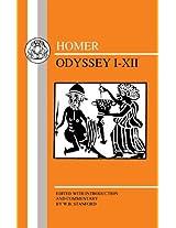 The Odyssey (Books. 1-12) (Greek Texts)