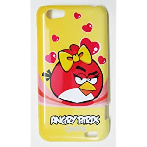 Angry Birds Hard Shell Back Case Cover for HTC One V (gz213909)