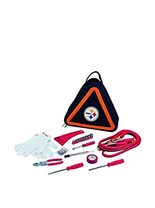 Picnic Time NFL Pittsburgh Steelers Roadside Vehicle Emergency Kit