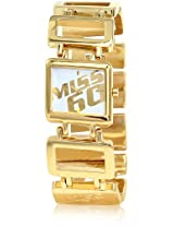 Miss Sixty Analog Gold Dial Women's Watch - SN9004