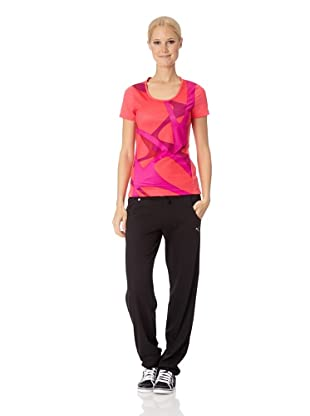 Puma Damen T-Shirt Essential Graphic (teaberry red)