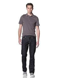 Dylan George Men's Dean Straight Leg Jeans (Griffith Blue)