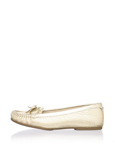Adrienne Vittadini Women's Trixie Loafer (Gold)