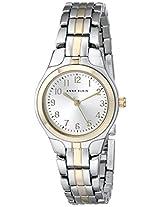 Anne Klein Womens 105491SVTT Two-Tone Dress Watch