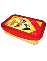 Chhota Bheem Super Lock & Seal Lunch Box Red / Yellow