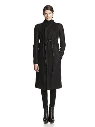 Rick Owens Women's Naska Coat (Black)