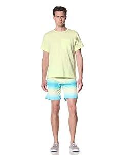 Olasul Men's Shorts Sleeve Sol Tee (Yellow)
