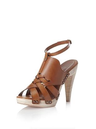 Derek Lam Women's Karisia Sandal (Dark Brown)