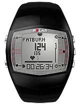 Polar FT40 Men's Heart Rate Monitor Watch (Black)