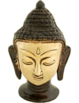 Two Moustaches Buddha Head Multicolored