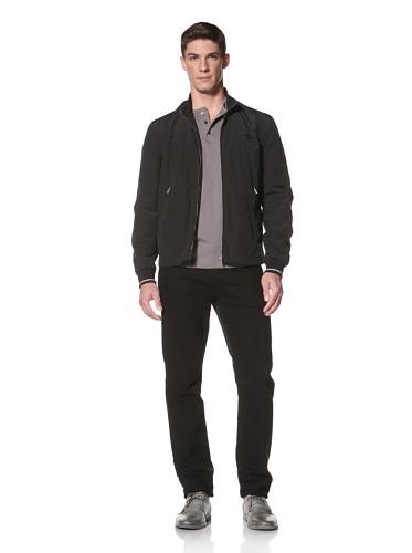 LOVE Moschino Men's Windbreaker Jacket (Black)
