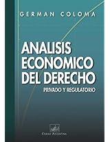 Analisis Economico del Derecho Privado y Regulatorio