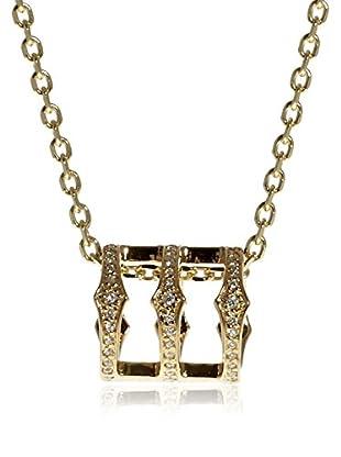 Babette Wasserman Halskette Sterling-Silber 925