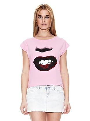 Pepe Jeans London Camiseta Dipper (Rosa Claro)