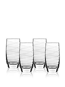 Luigi Bormioli Set of 4 Romantica 19-Oz. Beverage Glasses