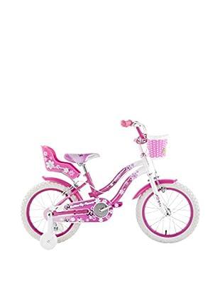 Schiano Cicli Bicicleta 16 Butterfly 01V. Blanco / Rosa
