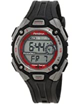 Armitron Sport Unisex 456999RED Chronograph Silver-Tone and Black with Red Accents Watch