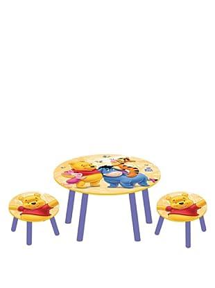 Set de Mesa y 2 Taburetes Winnie The Pooh Disney