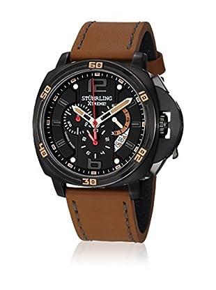 Stührling Uhr mit Schweizer Quarzuhrwerk EXCURSION BLAZER braun 46 mm